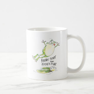 Mug bonne grenouille de feelin