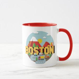 Mug Boston comme destination