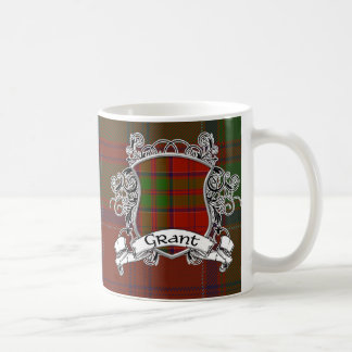 Mug Bouclier de tartan de Grant