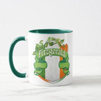 Mug Bouclier d'Irlandais de Fitzgerald