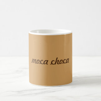 Mug Bouder «Moca choca».