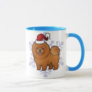 Mug Bouffe de bouffe de Noël