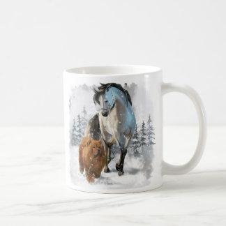Mug Bouffe et cheval de bouffe