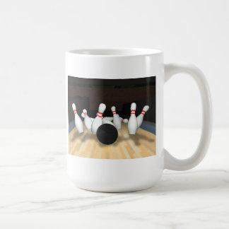 Mug Boule et goupilles de bowling : modèle 3D :