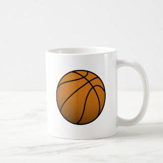 Mug Boule fraîche des sports B de basket-ball et de
