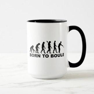 Mug Boule Petanque d'évolution