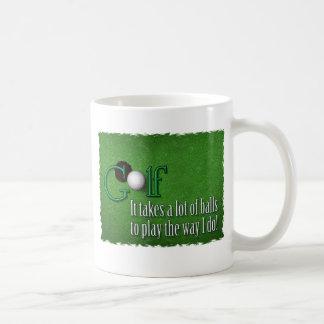 Mug boules de golf