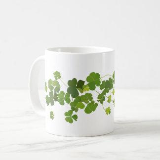 Mug Bouquet de shamrock, le jour de St Patrick