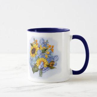 Mug Bouquet de tournesol d'été