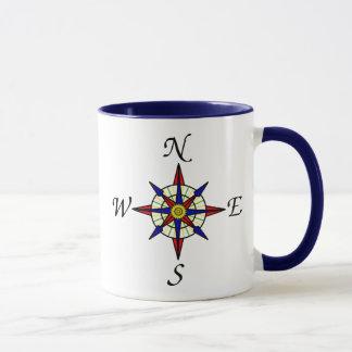 Mug Boussole nautique