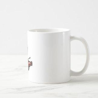 Mug Bouteille de whiskey vintage d'appareil-photo de