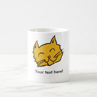 Mug Bouton heureux de chat