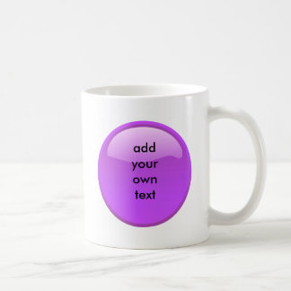 Mug bouton pourpre