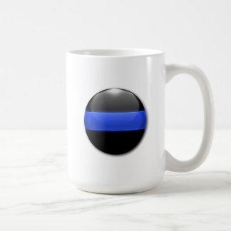 Mug Bouton rougeoyant mince de Blue Line