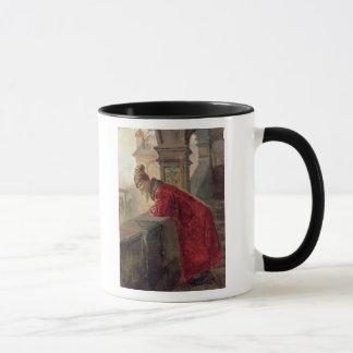 Mug Boyar sur le porche