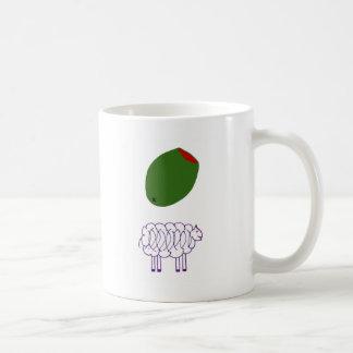 Mug Brebis olive
