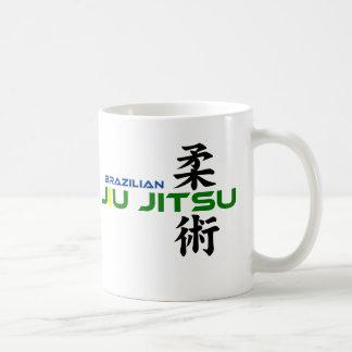 Mug Brésilien Jiu Jitsu avec les caractères japonais