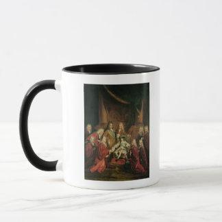 Mug Brevets de octroi de Louis XV de noblesse