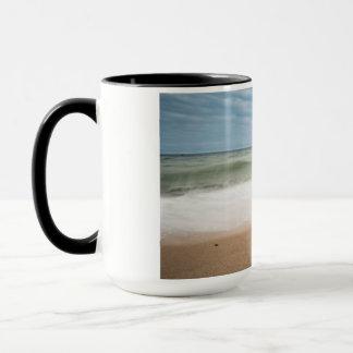 Mug Brise-lames sur le rivage de la mer baltique