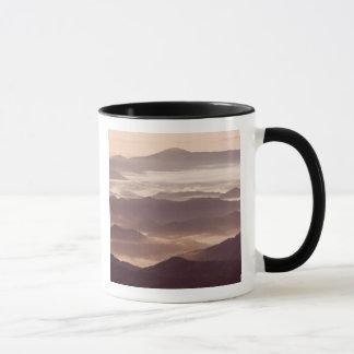 Mug Brouillard de matin dans l'Appalache du sud