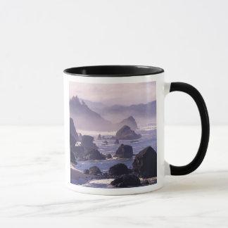 Mug Brume de matin le long de côte de l'Orégon près de