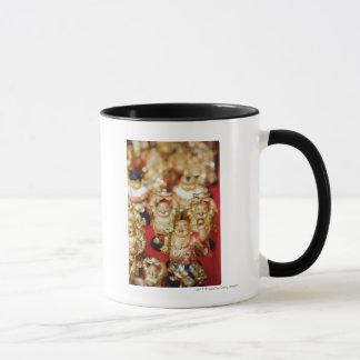 Mug Buddhas riant chinois