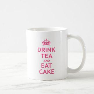 Mug Buvez du thé et mangez le gâteau