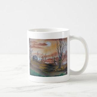 Mug Cabine de chasse d'automne
