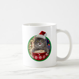 Mug Cacao chaud Kitty de Noël mignon