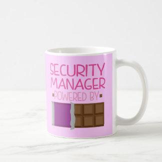 Mug Cadeau de chocolat de directeur de la sécurité