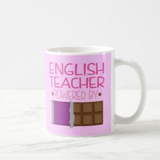 Mug Cadeau de chocolat de professeur d'Anglais pour