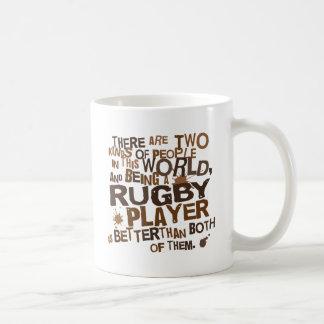 Mug Cadeau de joueur de rugby