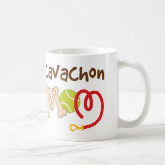 Mug Cadeau de maman de race de chien de Cavachon