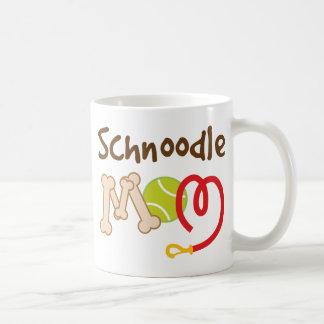 Mug Cadeau de maman de race de chien de Schnoodle