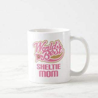 Mug Cadeau de race de chien de maman de Sheltie