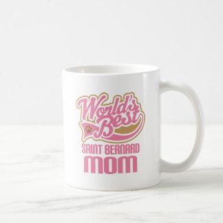 Mug Cadeau de race de chien de maman de St Bernard