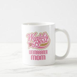 Mug Cadeau de race de chien de maman de Weimaraner