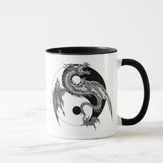 Mug Cadeau de Yin Yang de dragon