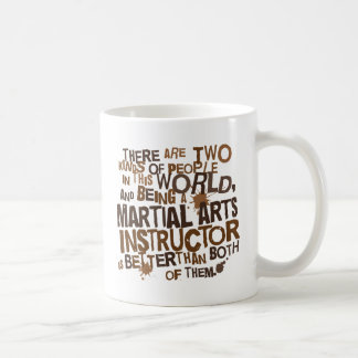 Mug Cadeau d'instructeur d'arts martiaux