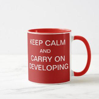 Mug Cadeau drôle de promoteur de système de projet -