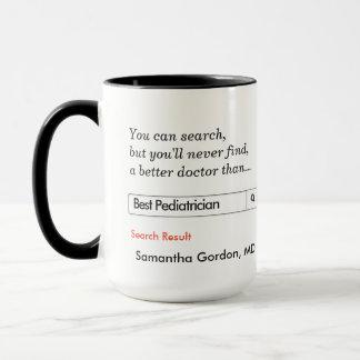 Mug Cadeau fait sur commande pour le pédiatre