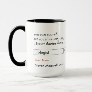 Mug Cadeau fait sur commande pour l'urologue