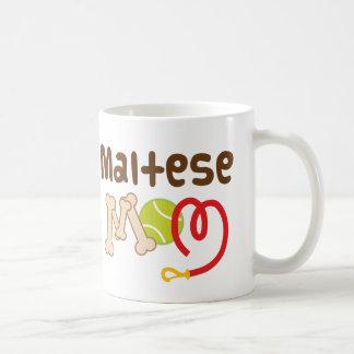 Mug Cadeau maltais de maman (race de chien)