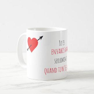 Mug cadeau pour votre femme - Citation d'amour