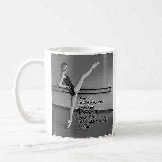 Mug Cadeau rêveur de danse pour des danseurs
