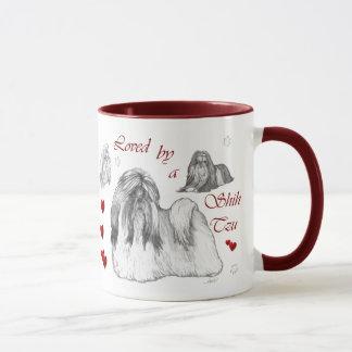 Mug Cadeaux d'amants de Shih Tzu