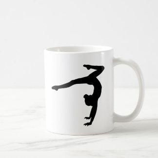 Mug Cadeaux d'appui renversé de mâle de gymnaste