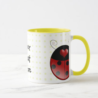 Mug Cadeaux de coccinelle