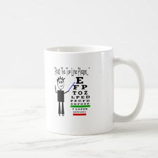 Mug Cadeaux de conception d'ophtalmologiste de