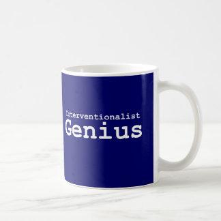 Mug Cadeaux de génie d'Interventionalist